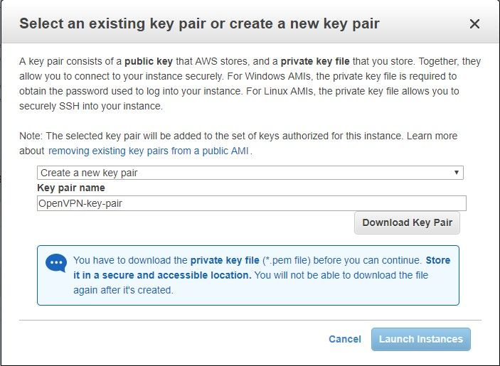 An AWS VPN - Part 1